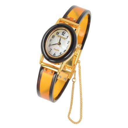 鼈甲二色時計