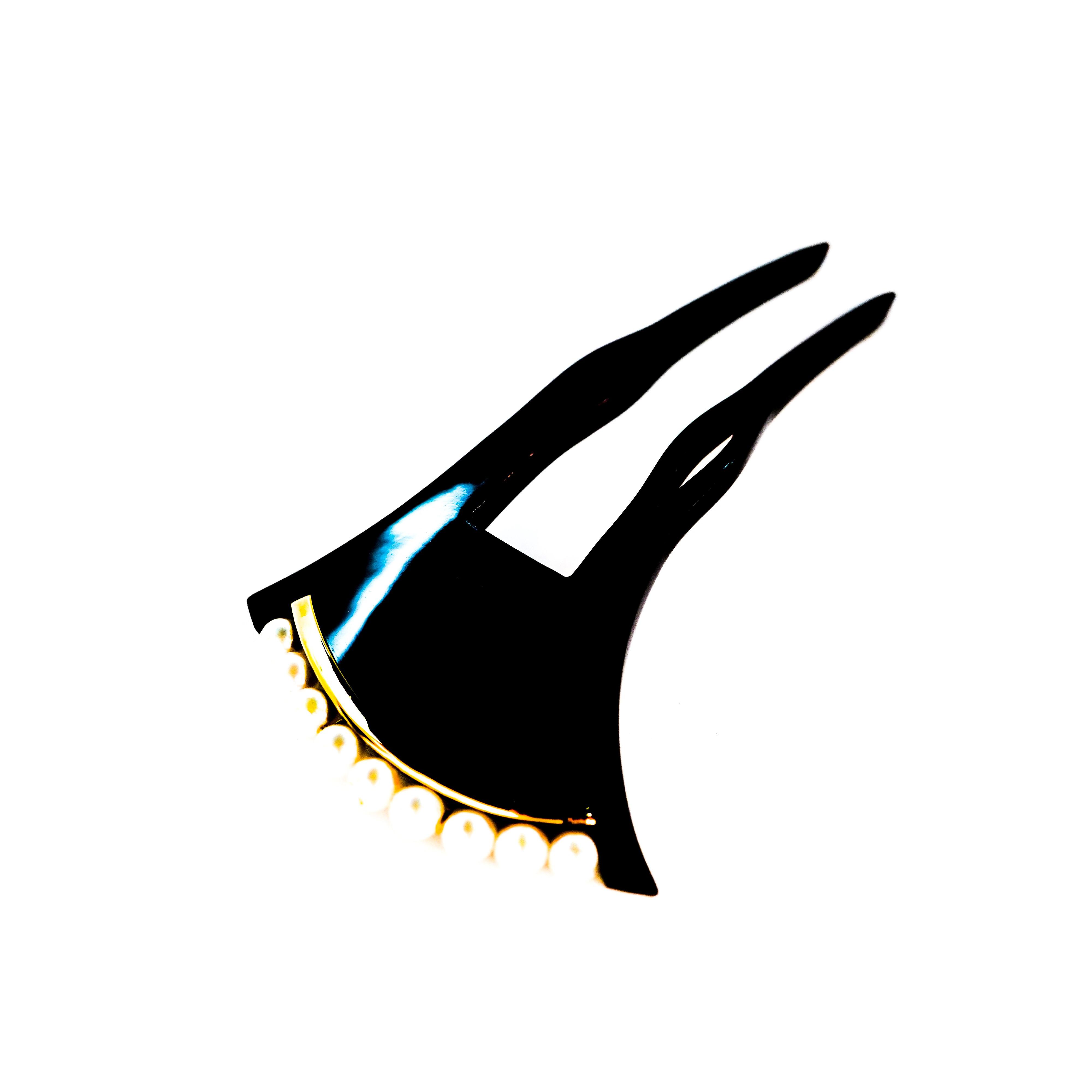 鼈甲真珠かんざし