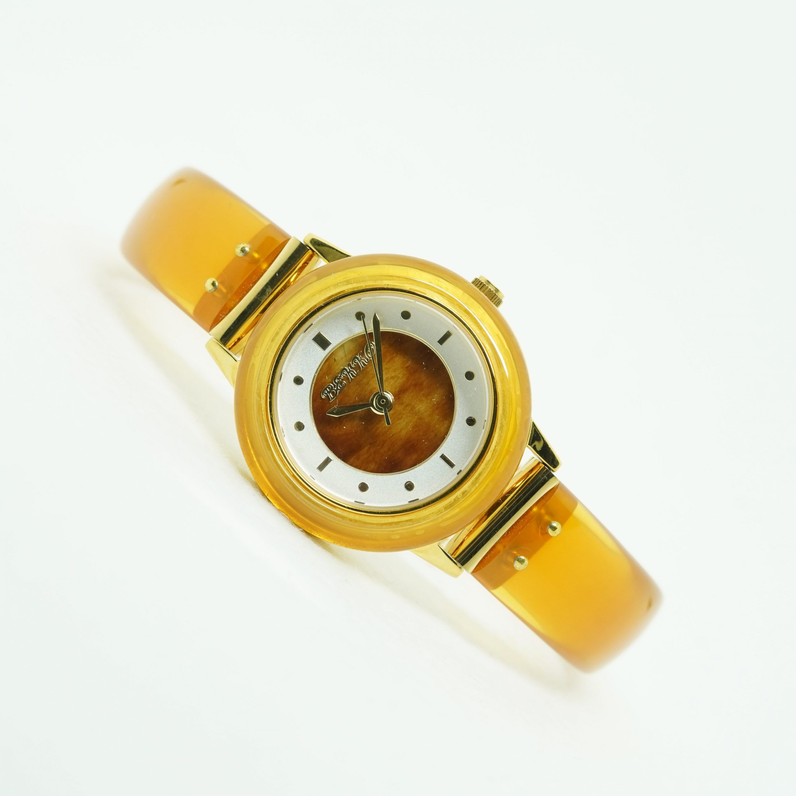 婦人白甲文字盤時計